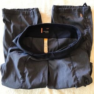 Lucy Get Going Pants, Heather Blue, Sz Small
